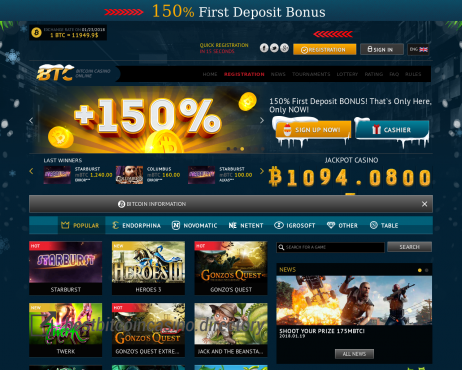 Btc Casino Best Bitcoin Casino Directory