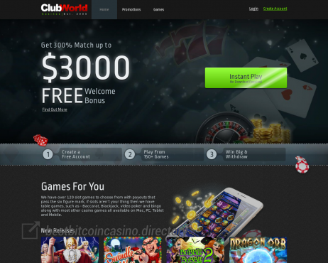 Clubworldcasinos Com